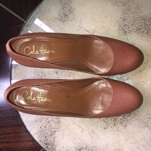 Cole Haan x Nike Air Collab Brown Heels Size 8